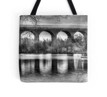 Viaduct at Reddish Vale Country Park Tote Bag