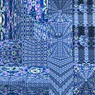 Lost in Blues (A 3D Kaleidoscopic Maze) by Charldia