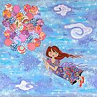 Fly High no. 1 by Lisa Frances Judd~QuirkyHappyArt