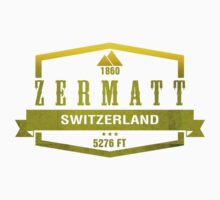 Zermatt Ski Resort Switzerland by CarbonClothing