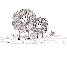 Tangled Ewe and Me by Christianne Gerstner