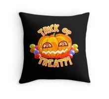 Pumpkin Tipo Throw Pillow