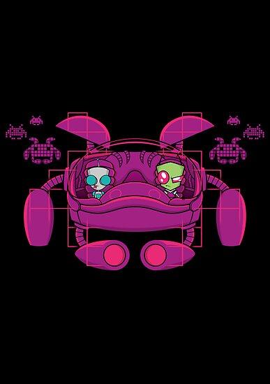 Space Zimvader by RyanAstle