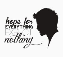 Darren Criss silhouette - quotes [black] by mirtilla83