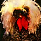 Fancy Chickens: No!  This is NOT a Wig! by Bunny Clarke
