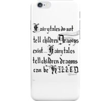 What Fairy Tales Do (GK Chesterton)  iPhone Case/Skin