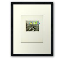 Holiday in the Mountains Framed Print