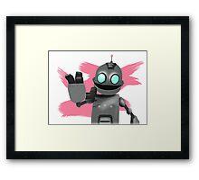Clank Framed Print