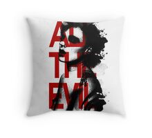 All the Evil Throw Pillow