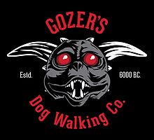 Gozer's Dog Walking Co. by Jason Castillo