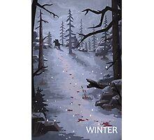 The Last of Us - Winter Photographic Print