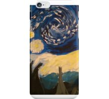 Starry Night Hand Painted iPhone Case/Skin
