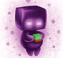 Baby Enderman  #1 by Rachael Morgan