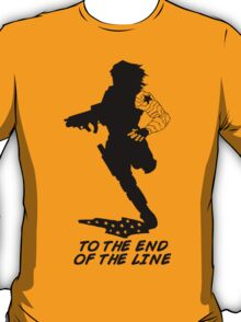 Winter Soldier - End of the Line - Silhouette (B) T-Shirt