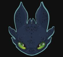 HTTYD Toothless by JunkYardRabbit