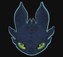 HTTYD Toothless by JunkYardRabbit