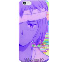 Rei Ayanami Quote 3 iPhone Case/Skin
