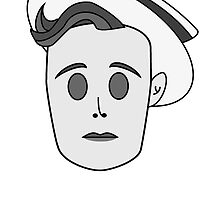 Buster Keaton in Classic Black & White by Jeremiah88