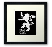 Game of Thrones - House Lannister Framed Print