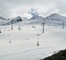 ski resort in Andorra La Vella by arnau2098