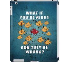 Fargo Fish Blood iPad Case/Skin