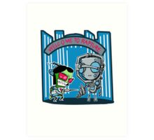 Invader Zim, Welcome to Rapture. Art Print