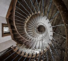 The Downward Spiral  by Jean-Claude Dahn