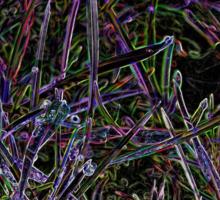 Glowing Grass Sticker