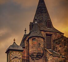 Canongate Tolbooth: The Royal Mile, Edinburgh by Miles Gray