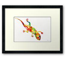 Mr. Lizard 1 Framed Print