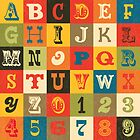 Vintage Alphabet by daisy-beatrice