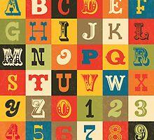 Vintage Alphabet by daisy-beatrice