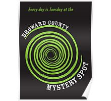 Broward County Mystery Spot Poster
