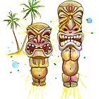 Tiki Friends by SamNagel