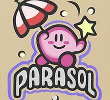 Kirby Parasol by likelikes
