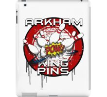 Arkham King Pins - Bowling Team T-shirt iPad Case/Skin