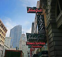 John's Grill by David Denny