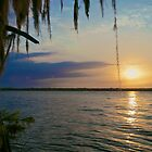 Flat Lake Sunset - Atchafalaya Basin by Mike Capone