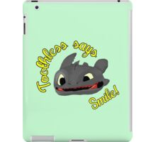 Toothless Says Smile! iPad Case/Skin