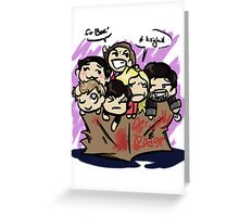 Operation Henry Greeting Card