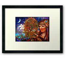 Her Butterfly Fairytale Framed Print
