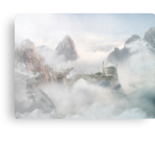 Palace of the Sky Dragons Canvas Print