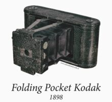 Folding Pocket Kodak by Daniele  Marcello