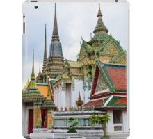 Wat Pho or the Temple of Reclining Buddha in Bangkok, Thailand iPad Case/Skin