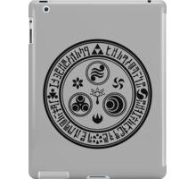 Hero's Mark (Black) iPad Case/Skin