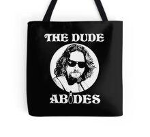 The Dude Abides - The Big Lebowski Tote Bag