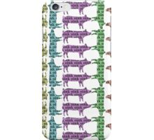 Pigs Can Talk iPhone Case/Skin