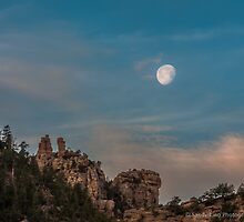 Moonset, Sunrise by George Trimmer
