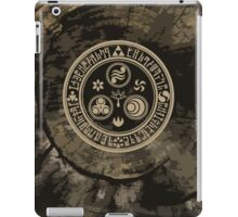 Hero's Mark (Brown) iPad Case/Skin