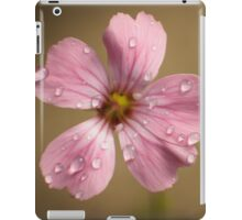 pink and wet iPad Case/Skin